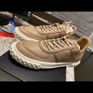 NEW Giuseppe Zanotti Blabber Leather Sneaker